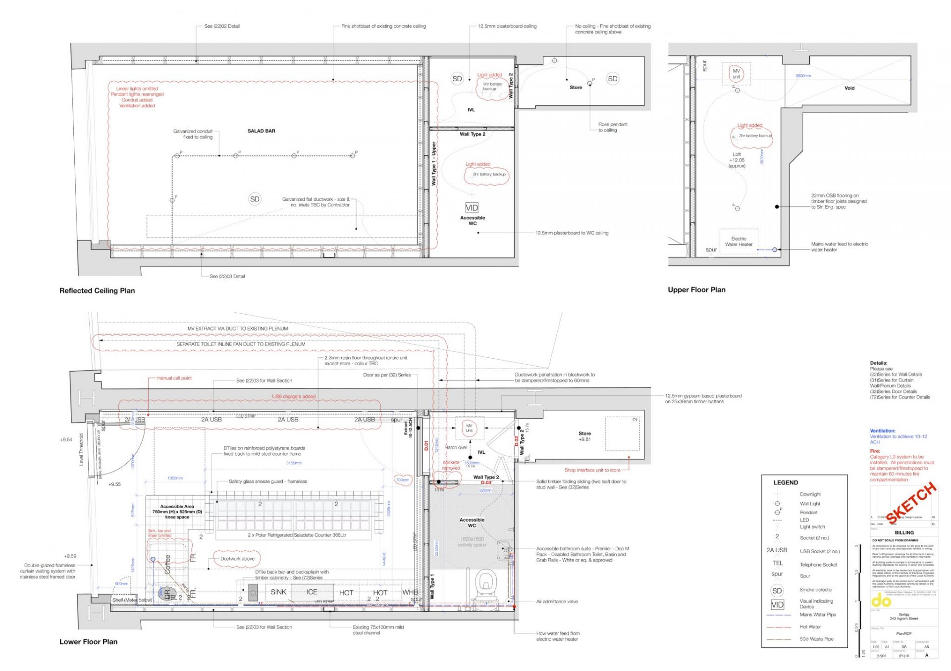 Sprigg Shop Floor Plan